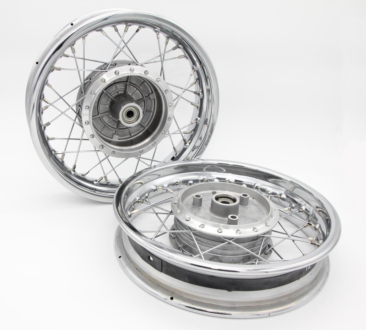 Simson SR50/SR80 Speichenrad 2,15x12 (2 Stück-Paar)
