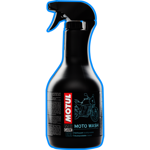 MOTUL E2: Moto Wash