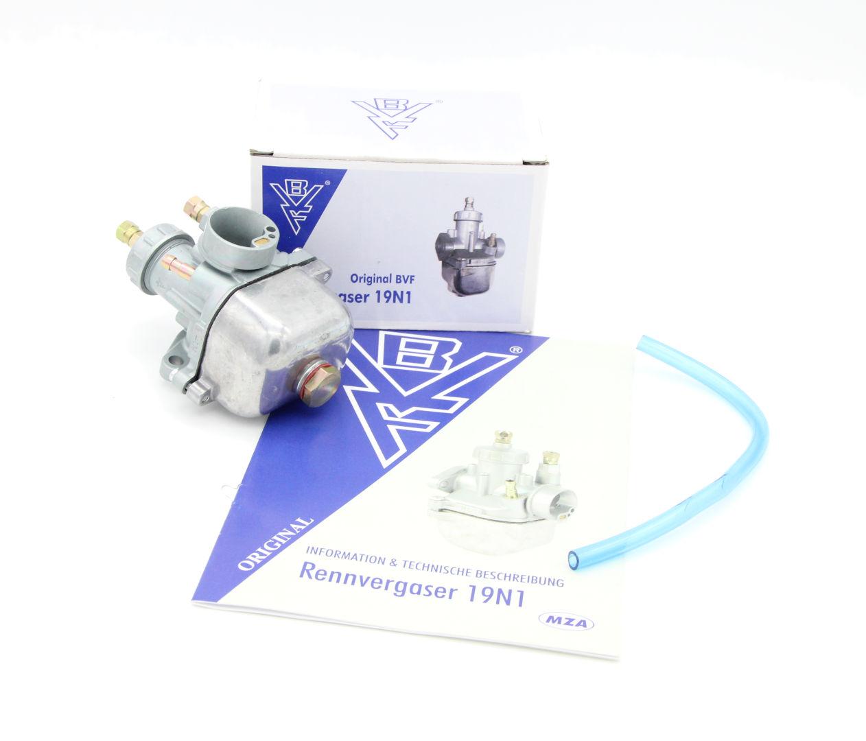 BVF-Rennvergaser 19N1-11- z.B. für S51, S70