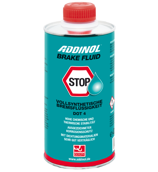 ADDINOL BRAKE FLUID DOT4 (DOT3) Bremsflüßigkeit, 0,5l